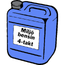 Miljöbensin 4-takt, 5 liter