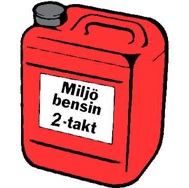 Miljöbenin 2-takt, 5 liter