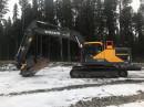Grävare Volvo EC250EL