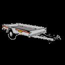 Släpvagn, totalvikt 750 kg, ej bromsad