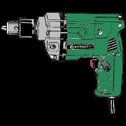 Handborrmaskin, Hitachi D10YA