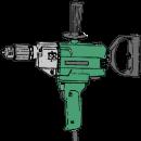 Handborrmaskin, Hitachi D13 (blandare)