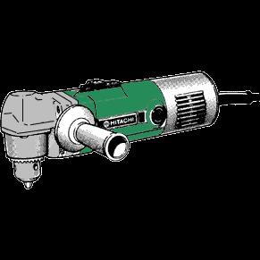 Vinkelborrmaskin, Hitachi D10YA