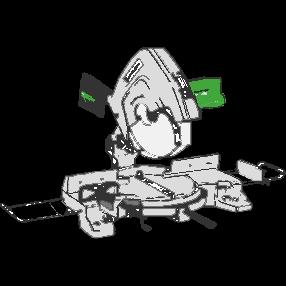 Kap- och geringssåg, Hitachi C15FB