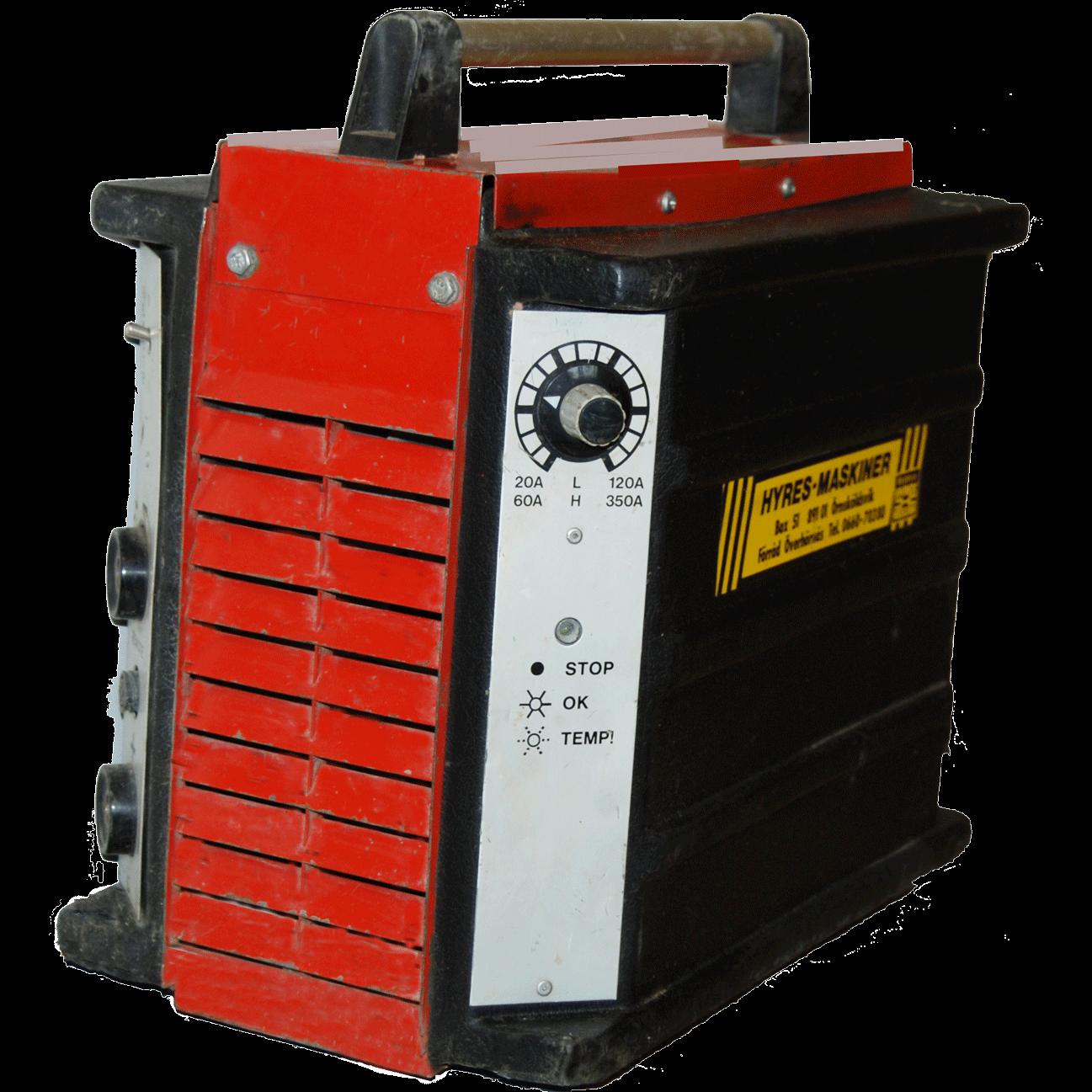 Svets 380 V, Scand Electronic 350