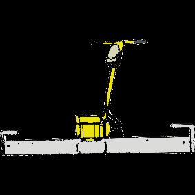 Golvvibrator, Dynapac 380 V