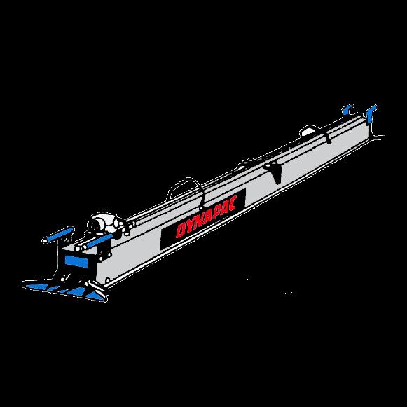Vibratorbalk, enprofils 380 v, 4,20 meter