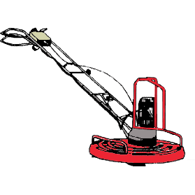 Glättningsmaskin, Dynapac BG42 1000 mm