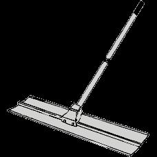 Sloda, 1,5 meter med rörligt skaft (aluminium)