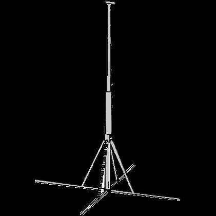 Stativ för strålkastare, ställbart 2,05-4,5 meter