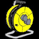 Kabelvinda 220 V, 25 meter