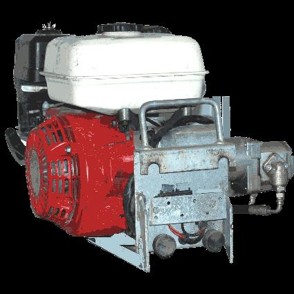 Hydraulaggregat, bensindrivet för Dino liftar