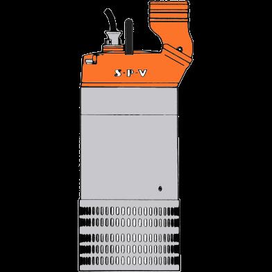 Pump, 380 V SPV P60 4800 liter/minut
