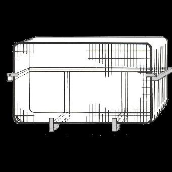 Transporthäck för stängsel