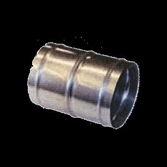 Skarvrör med klammer 38 mm